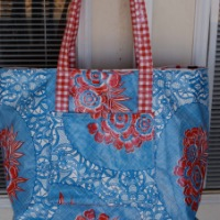 Oil Cloth Bag DIY Tutorial (update)