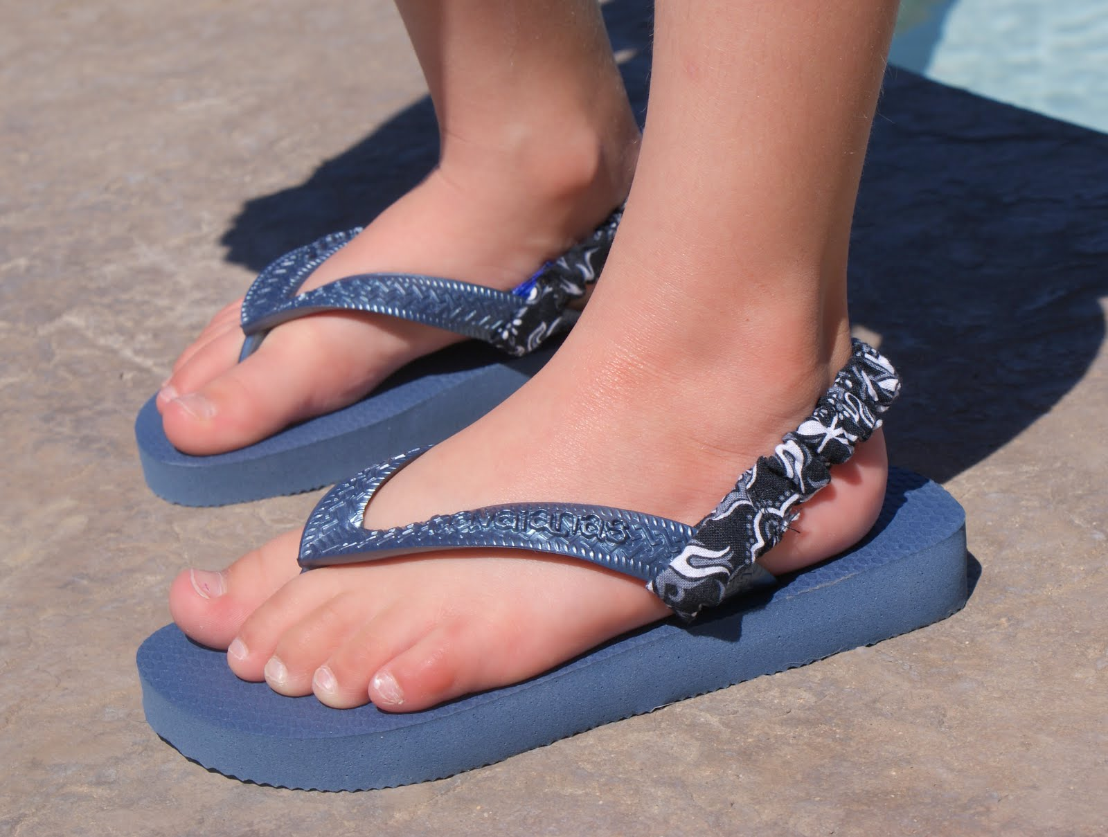 Flops candid teen girl feet much the
