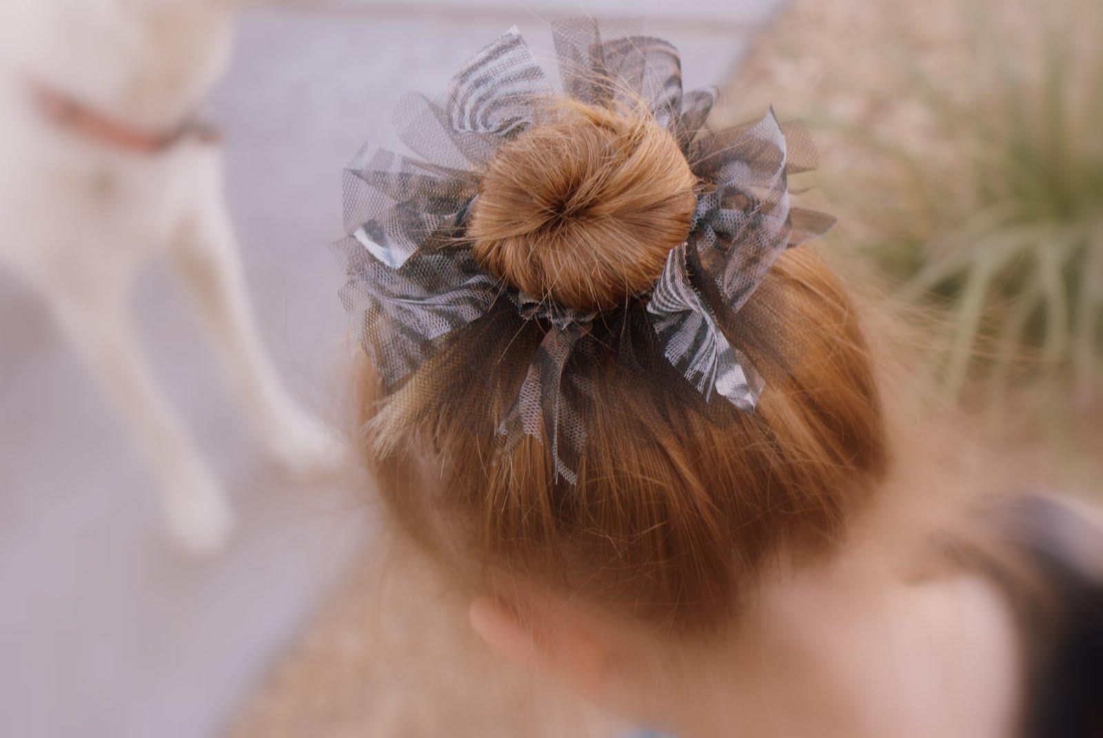 Tutu Inspired Hair Tie – Drama Queen Seams 67805254eaa