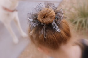 Tutu Inspired Hair Tie