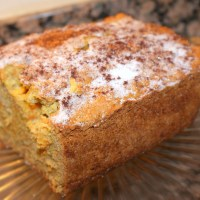 Carrot Apple Breakfast Cake