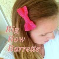 Big Bow Barrette