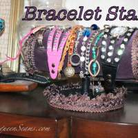 Make your own Bracelet Stand  (Handmade Holiday Presents)