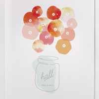 Minted paper goods