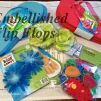 Embellished Flip flops Challenge