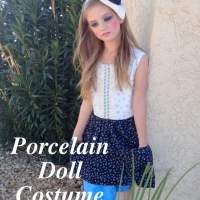 Halloween costume (Porcelain Doll)
