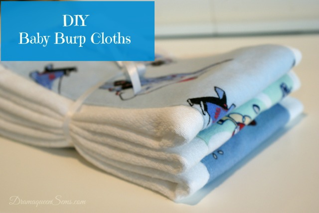 DIY Baby Burp Cloths