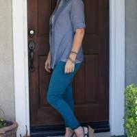 Skinny Jeans Refashion