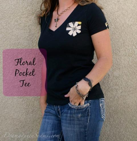 Floral Pocket Tee